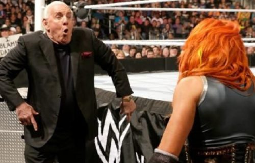 """Becky Lynch comments on Ric Flair's trademark for """"The Man"""""""