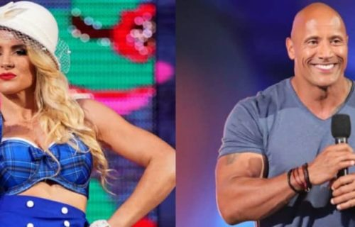 Lacey Evans disrespects the Rock, the Great One responds