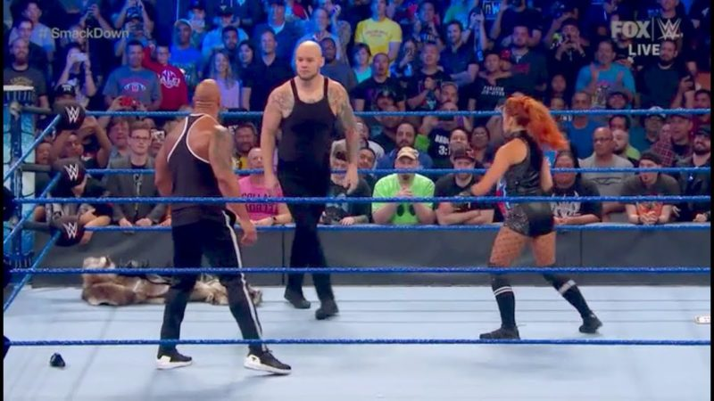 Baron Corbin Rocked by The Man on Friday Night SmackDown