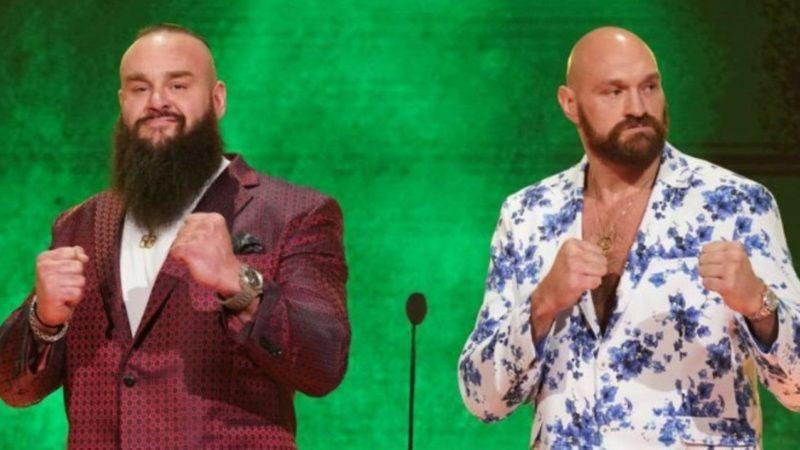 Braun Strowman Tyson Fury Crown Jewel