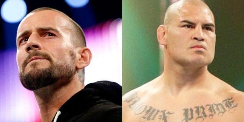 CM Punk and Cain Velasquez