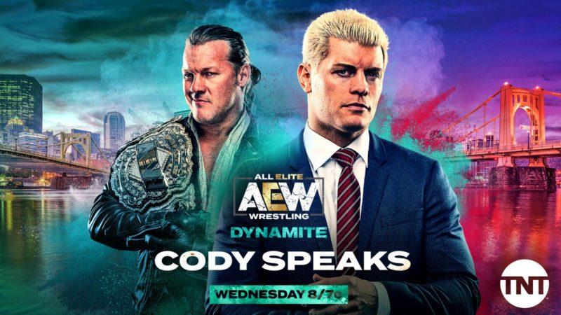 Cody vs Chris Jericho AEW