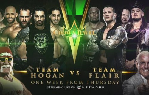 Final member of Team Flair for Crown Jewel revealed