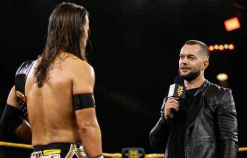 Finn Balor heel turn on this week's NXT