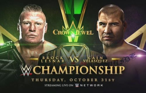 Betting odds for WWE title match and more at Crown Jewel revealed