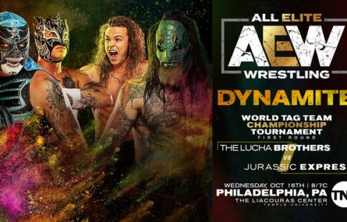 Luchasaurus injured, replaced in AEW Tag Title Tournament