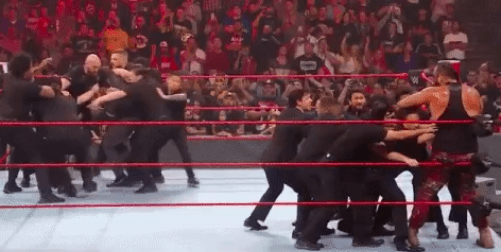 Tyson Fury and Braun Strowman brawl it out in the main event of RAW