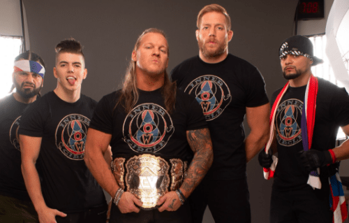 Chris Jericho reveals the name of his new stable