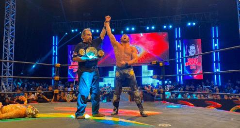Kenny Omega captures the AAA MEGA Championship