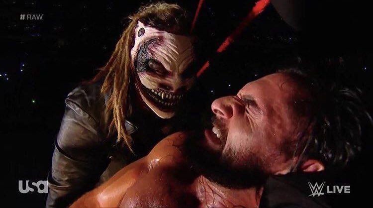 The Fiend Mick Foley Seth Rollins