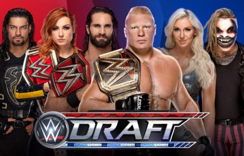 WWE releases Draft Pools for upcoming SmackDown & Raw