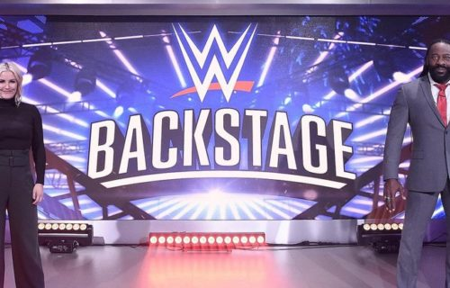 Special episode of WWE Backstage to air following Smackdown Live