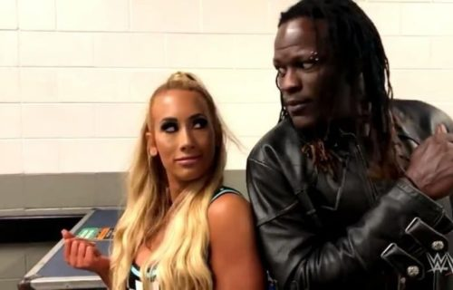 Possible reason why R-Truth and Carmella were separated