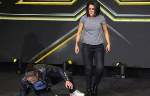 Bayley attacks Shayna Baszler on NXT