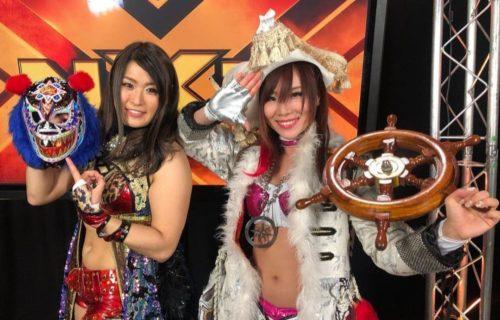 Io shirai & Kairi Sane received invitations from NJPW