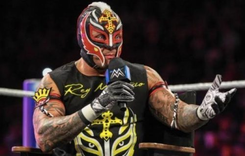 Rey Mysterio's future in WWE up in the air
