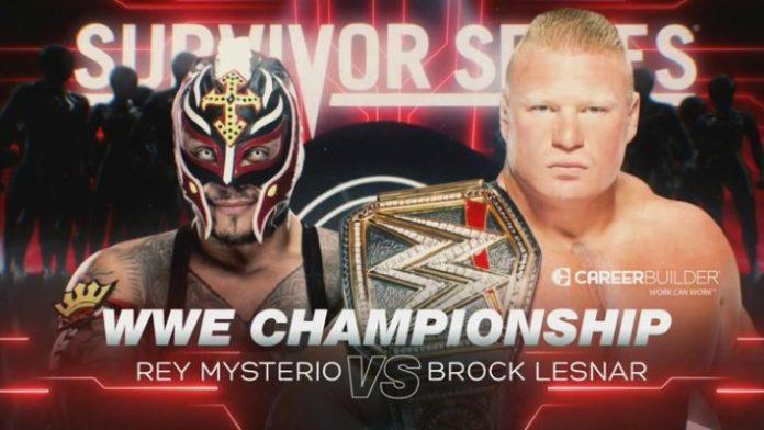 Rey vs Lesnar