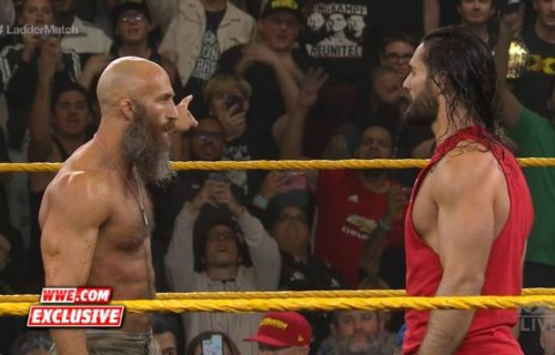 Seth Rollins on possible match with Tommaso Ciampa