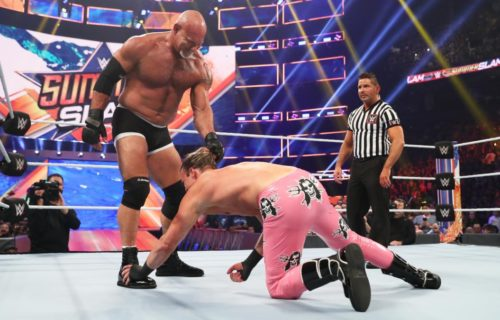 Dolph Ziggler apparently threatened to leave WWE over match with Goldberg