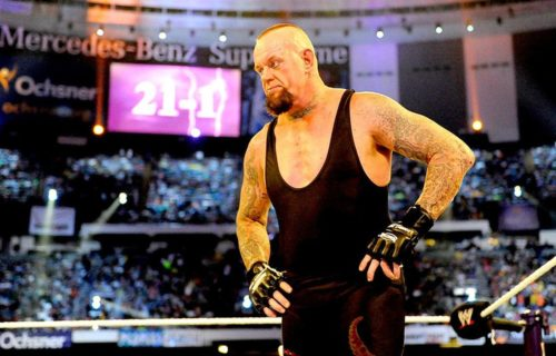 The Undertaker reflects on the night his WrestleMania streak ended