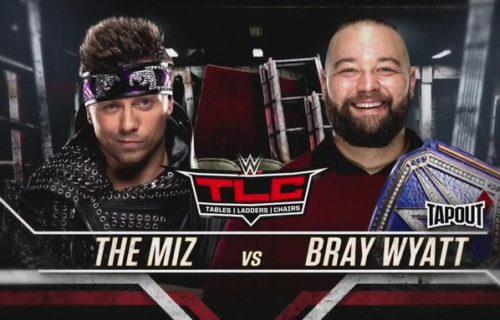 The Miz vs Bray Wyatt set for WWE TLC