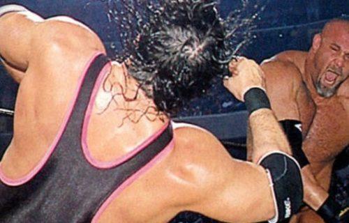 Goldberg talks about concussing Bret Hart