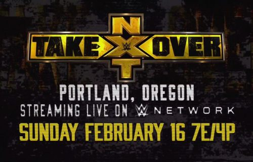 NXT Championship match confirmed for NXT TakeOver: Portland