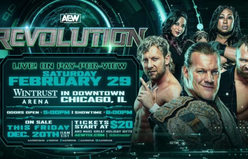 AEW Revolution sells out within an hour