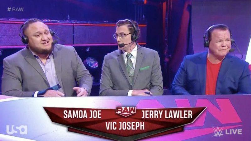 Samoa Joe commentar