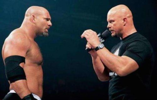 Goldberg talks about being compared to Steve Austin