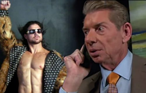 John Morrison's return to the WWE started with a butt-dial from Vince McMahon