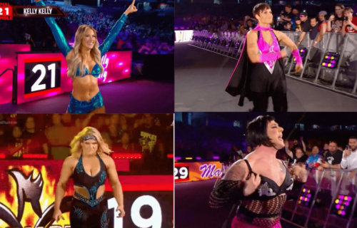 Multiple WWE Legends make their return in the Women's Royal Rumble match