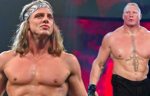 Matt Riddle and Brock Lesnar involved in tensed backstage encounter at Royal Rumble
