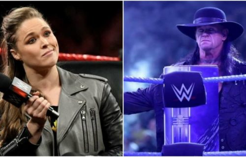 The Undertaker and Ronda Rousey's WrestleMania 36 status reportedly revealed