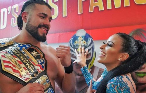 Andrade apparently dropping WWE US Title soon