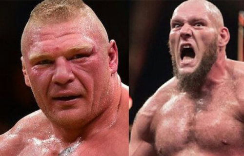 Vince McMahon apparently wanted Lars Sullivan to face Brock Lesnar