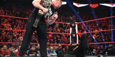 Brock Lesnar R Truth