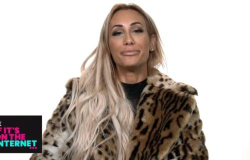 Carmella addresses rumors of her dating John Cena