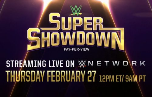 WWE Championship match confirmed for Super ShowDown