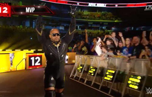 Former WWE Superstar MVP returns at Royal Rumble