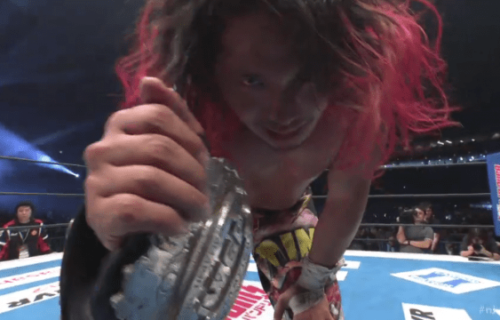 Hiromu Takahashi wins IWGP Junior Heavyweight Championship at Wrestle Kingdom 14