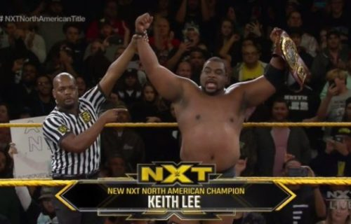 Keith Lee wins NXT North American Championship