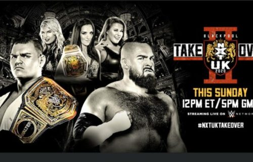 WWE reports injury for champion ahead of NXT UK TakeOver: Blackpool II
