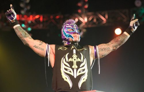 Rey Mysterio quarantined - WrestleMania match cancelled