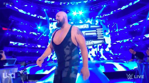 Big Show makes a surprise return on Monday Night RAW