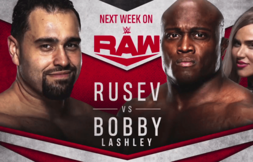 Rusev to face Bobby Lashley on next week's Monday Night RAW
