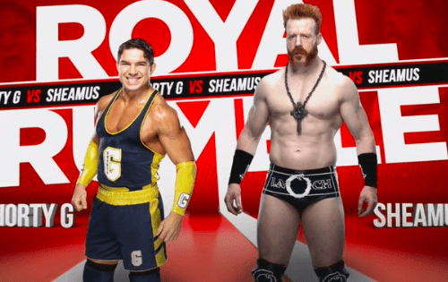Sheamus and Shorty G to face each other in singles match at Royal Rumble