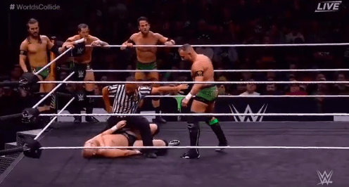 Alexander Wolfe suffers legitimate Knock Out in match against Undisputed Era