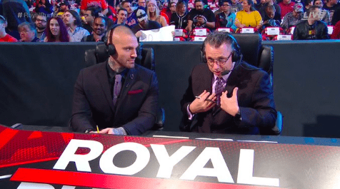 Michael Cole accomplishes historical career achievement at Royal Rumble