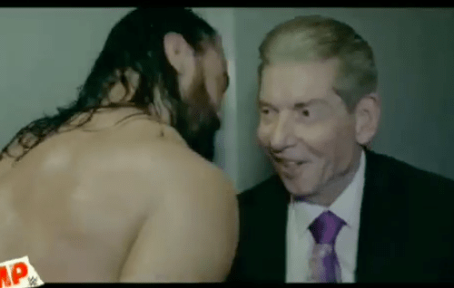WATCH: Drew McIntyre shares an amazing moment with Vince McMahon after Royal Rumble victory